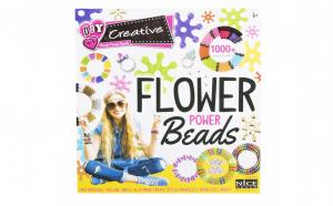 Set creativ margele , 1000 piese, Flower Power Beads