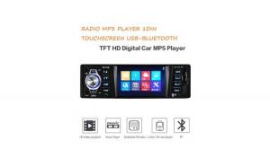 "Radio Mp3 player Auto 1DIN Bluetooth Avi Dvix Ecran color 3.5 Usb Sd card"""