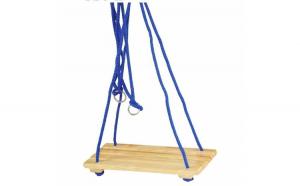 Leagan copii din lemn ,40.2x17.5x5 cm