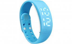 Bratara fitness W2M, Pedometru 3D, distanta, calorii, alarma, Vivo, albastru
