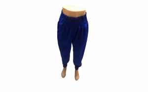 Pantaloni dama din catifea