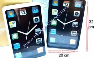 Ceas Perete model iPhone 2015, la 69 RON in loc de 120 RON