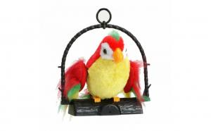 Jucarie Papagal vorbitor ce imita sunete