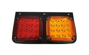 Lampa stop SMD 2001AR (dreapta) Voltaj: 12V-24V Nr. led-uri: 32 SMD Rezistenta la apa: IP66