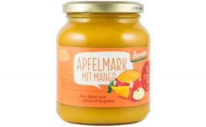Piure bio de mere cu mango, 360 g Nur