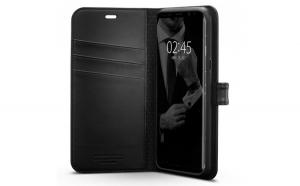 Husa Portofel Spigen Wallet S pentru Samsung Galaxy S8 G950 black (Black)