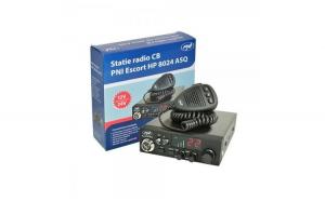 Statie radio CB PNI Escort HP 8024 cu ASQ reglabil 12V-24V