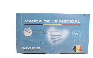 50 masti medicale BFE 99,7% avizate MS