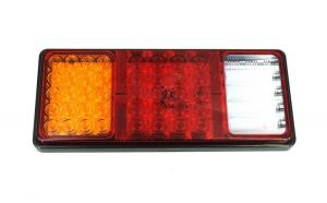 Lampa stop SMD 2026A Voltaj: 12V-24V Nr. led-uri: 55 SMD Rezistenta la apa: IP66