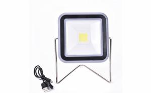Lampa solara led cu suport si functie de baterie externa - pentru pescuit, drumetii, camping