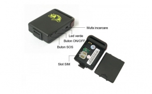 Dispozitiv urmarire GPS, GSM, GPRS, la 327 RON in loc de 699 RON