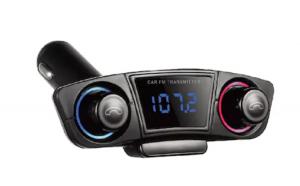 Modulator auto M20, Bluetooth 4.0, AUX, Handsfree, cititor carduri, functie incarcare telefon si brat flexibil