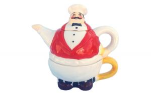 Set din ceramica format din cana de ceai