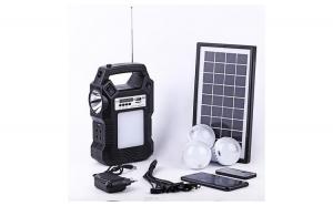 Kit panou solar cu 3 becuri LED