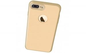 Husa Apple iPhone 7 Plus Flippy Full Silicone 360 Auriu