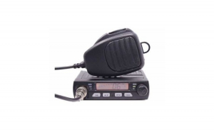 Pachet Statie radio CB MINI si Antena 1 M cu talpa 20-25 Km Raza Asq