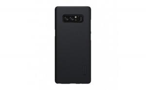 Husa Samsung Galaxy Note 8 Nillkin Frosted Shield Negru + Folie de protectie