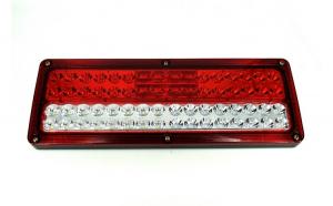 Lampa stop SMD 2009L (stanga) Voltaj: 24V  Nr. led-uri: 64 SMD Rezistenta la apa: IP66