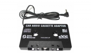 Caseta adaptor MP3 cu mufa jack 3.5mm
