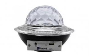 Glob Disco Tip OZN cu LED RGB MP3 Bluetooth, Crystal Magic Ball