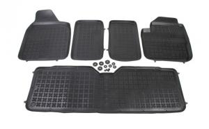 Set covorase cauciuc stil tavita - Seat Alhambra 1995 - 2010, 7 locuri Rezaw