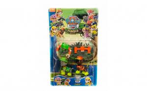 Set 2 figurine Paw Patrol - Rocky si Zuma