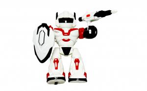 Robot de jucarie cu sunete si lumini - 24 cm