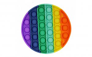 Jucarie senzoriala Antistres - POP IT - multicolora din silicon