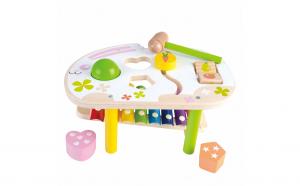 Jucarie Montessori 5 in 1 colorat