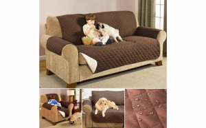 Husa de protectie pentru canapea - protejeaza impotriva petelor lasate de animalele de companie