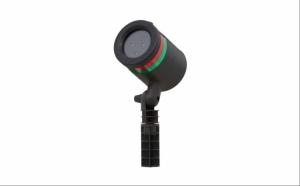 Proiector Lumini Rosu + Verde, Efect 3D Holografic + Suport De Sustinere, RAZA 300M
