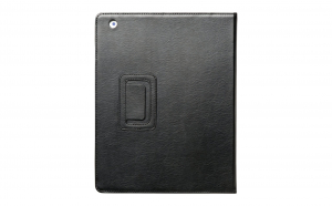 Husa de protectie din piele neagra pentru tableta Apple iPad, Vivo