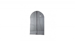 Husa de protectie pentru costum, 60x137 cm, gri