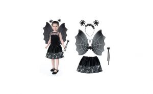 Costum Halloween vrajitoare cu bentita, Halloween, Costume originale