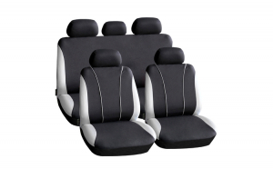 Huse universale pentru scaune auto - gri - CARGUARD GLZ-HSA003