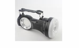 Lanterna moderna cu lupa, care se poate incarca atat de la soare cat si de la priza