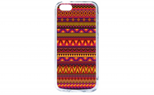 Husa silicon iPhone 5C Aztec Summer
