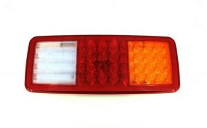 Lampa stop SMD 2027R (dreapta) Voltaj: 12V Nr. led-uri: 44 SMD Rezistenta la apa: IP66