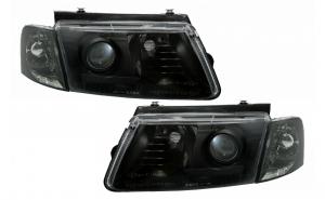 Set 2 faruri compatibil cu VW Passat 3B (10.1996-10.2000), Negre