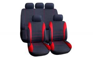 Huse universale pentru scaune auto - rosii - CARGUARD GLZ-HSA007