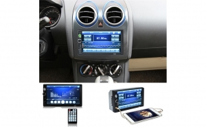MP5 PLayer Auto 2DIN - Ecran 7 Inchi cu TouchScreen,  Bluetooth, USB, AUX