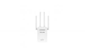 Amplificator Extender semnal Wi-Fi Pix-Link, 300Mbps, alb