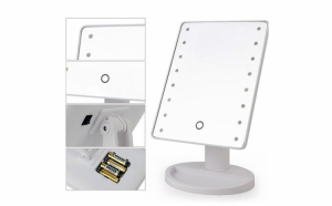 Oglinda pentru machiaj, 22 x LED