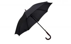 Umbrela Barbati THEICONIC automata neagra 110cm diametru - articulatii anti-vant la doar 24.99 RON