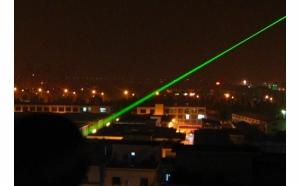 Laser pointer de putere 500mW cu 5 capete de jocuri cu lumini - Verde la doar 69 RON de la 139 RON