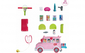 Jucarie interactiva Funny Bus, Ride-on