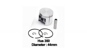 Piston complet Husqvarna 350 (44mm) -