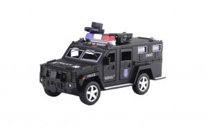 Pusculita Electronica MRG M-6688-19, Masina de politie, Cu PIN, Negru C528
