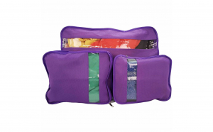 Set 3 accesorii de organizare bagaje, Vivo, EFG1023