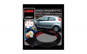 Banda ornament protectoare PVC 5m - 32mm